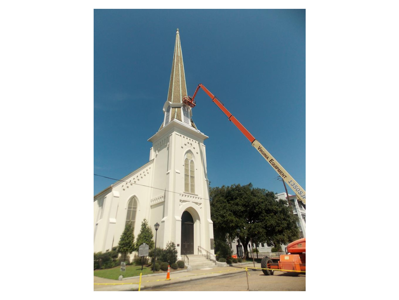 Commercial: Monumental United Methodist Church, Portsmouth, VA