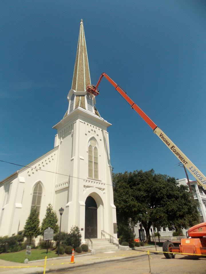 Commercial Monumental United Methodist Church Portsmouth